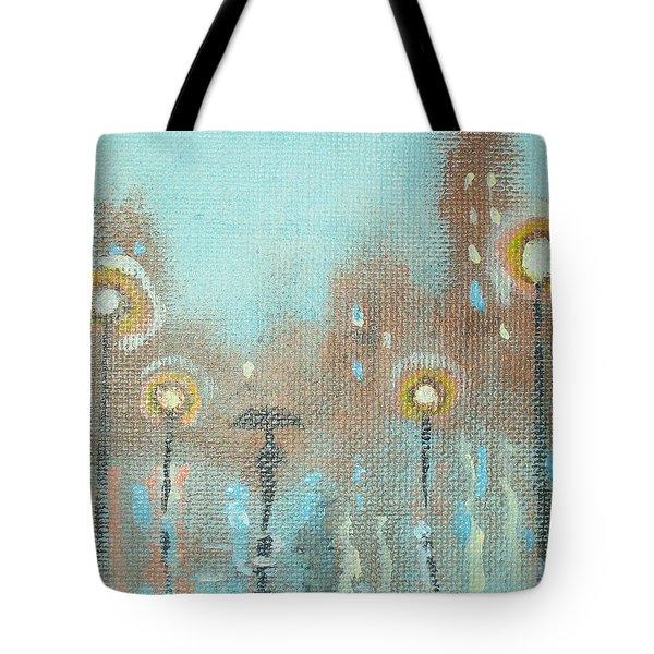 Evening Stroll Tote Bag by Raymond Doward