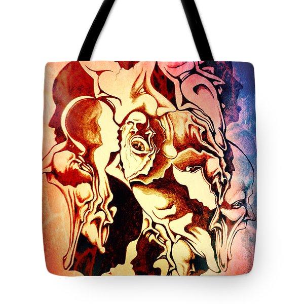 Evolution In Mind  Tote Bag
