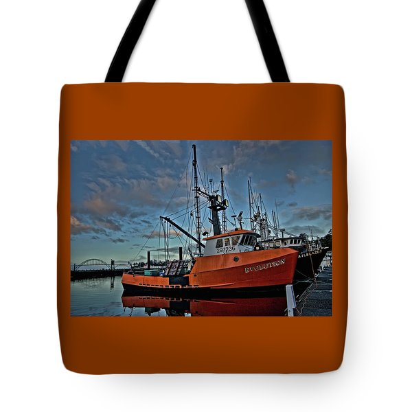 Tote Bag featuring the photograph Evolution by Thom Zehrfeld