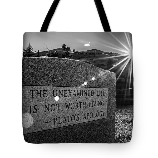 Examined Life Tote Bag