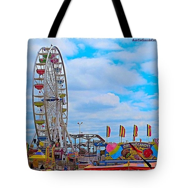 #exploring The #austin, #texas #rodeo Tote Bag