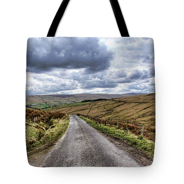 Exploring The Sperrin Mountains Tote Bag