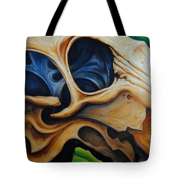 Eye Socket Tote Bag