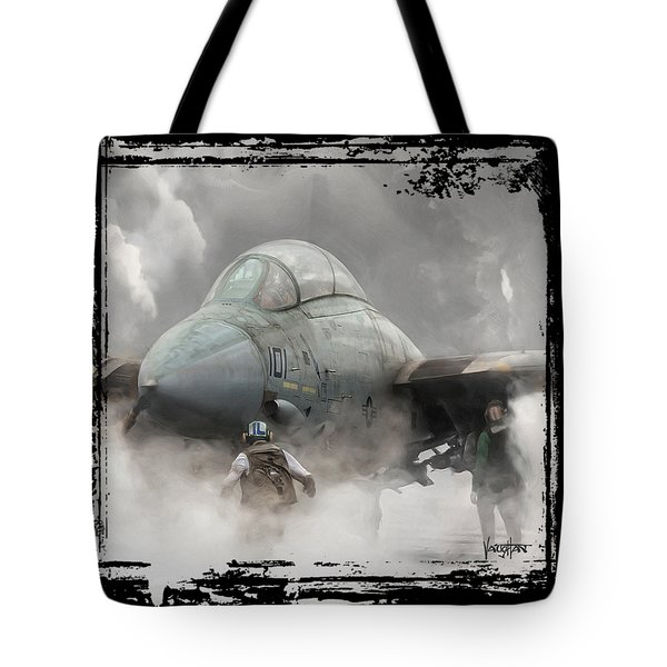 F-14 Smokin' Hot Tote Bag