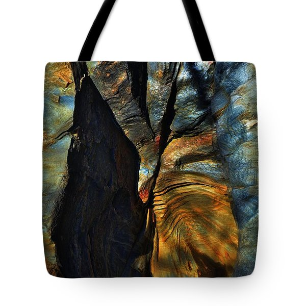 Tote Bag featuring the photograph Faces by EDi by Darlene