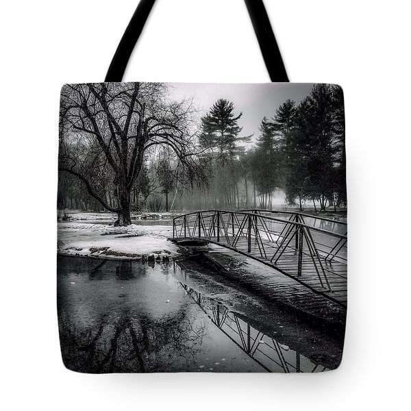 Fade To Black Tote Bag