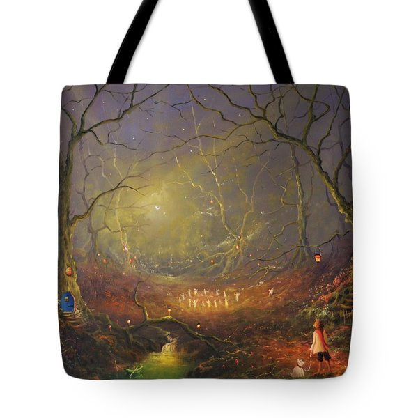 The Fairy Ring Tote Bag
