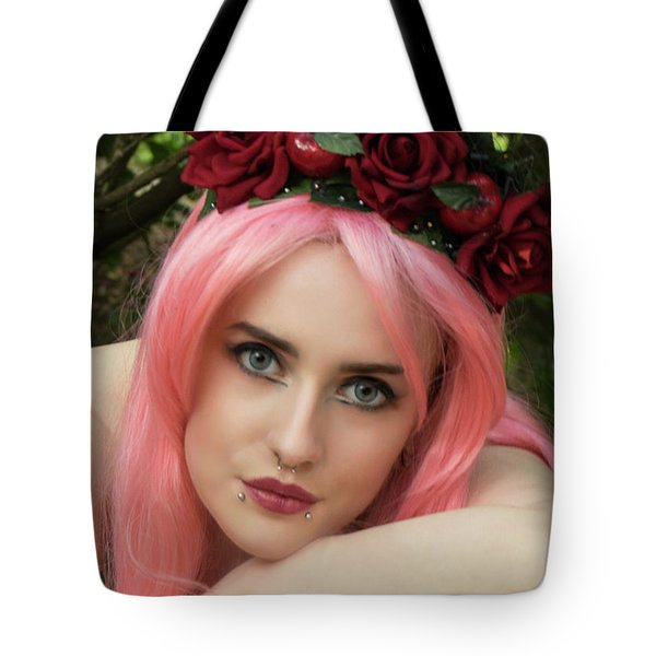 Tote Bag featuring the photograph Fairy Queen by Ian Thompson