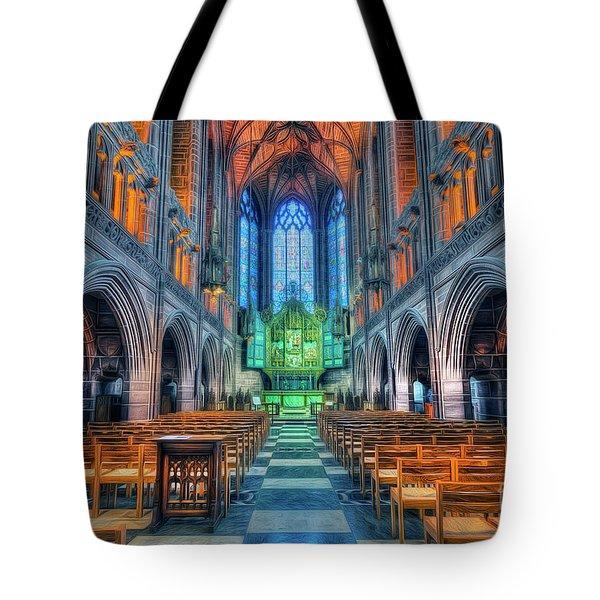 Faith Hope And Love Tote Bag