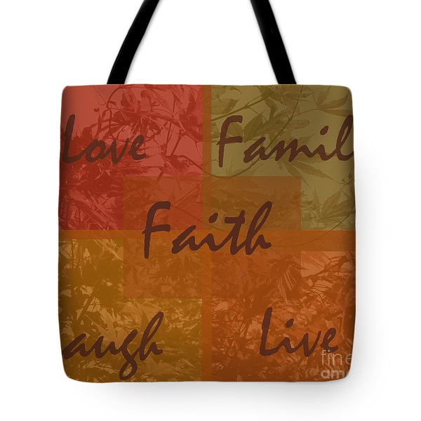 Tote Bag featuring the digital art Faith by Kirt Tisdale