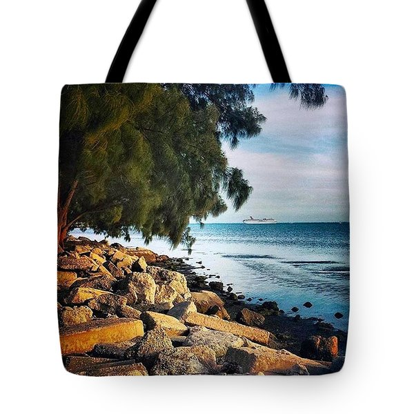 Warm Ocean Breeze Tote Bag