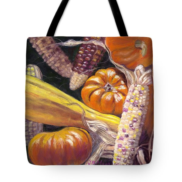Fall Harvest Tote Bag by Julie Maas