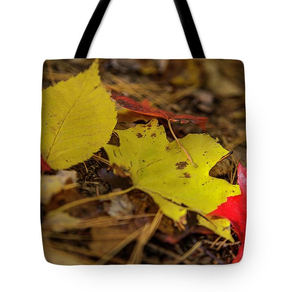 Fall In New Hampshire Tote Bag