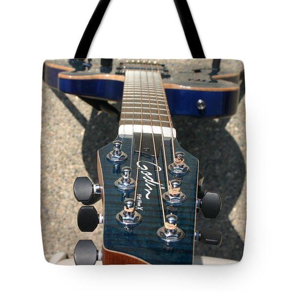 Tote Bag featuring the photograph Fall Melody by Marie Neder