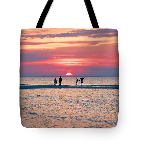 Tote Bag featuring the photograph Family by Amazing Jules