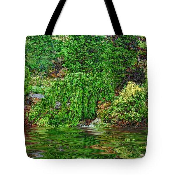 Fantasy Garden Tote Bag by Nancy Marie Ricketts