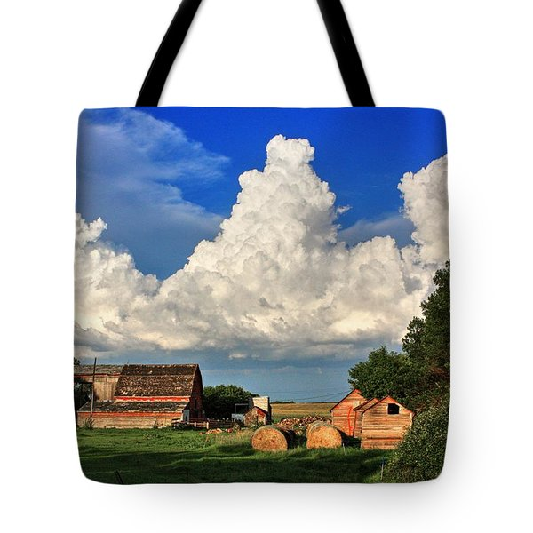 Farm Yard Tote Bag