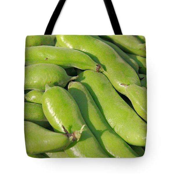 Fava Bean Pods Tote Bag