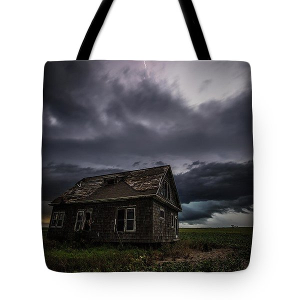 Tote Bag featuring the photograph Fear by Aaron J Groen