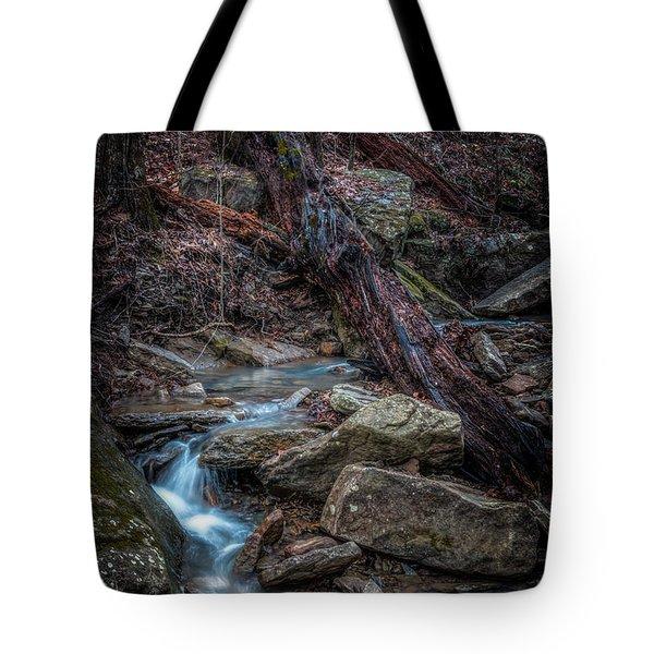 Feeder Creek Tote Bag