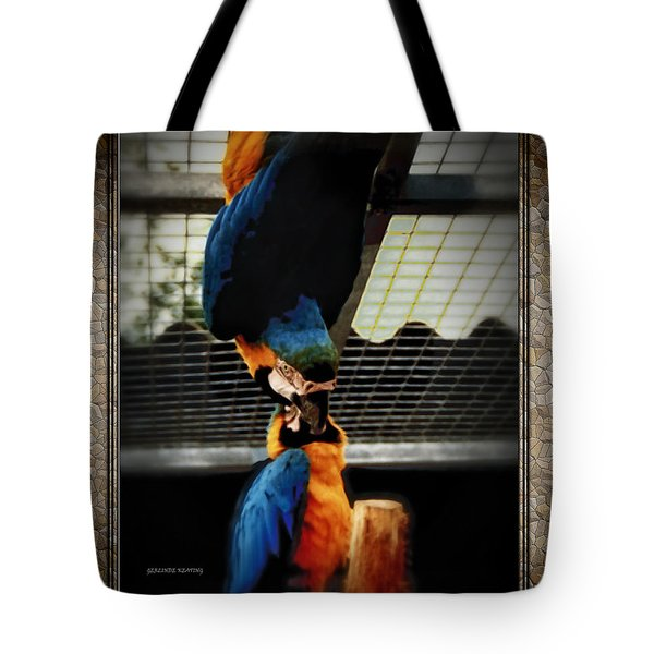 Tote Bag featuring the photograph Feeding Time by Gerlinde Keating - Galleria GK Keating Associates Inc