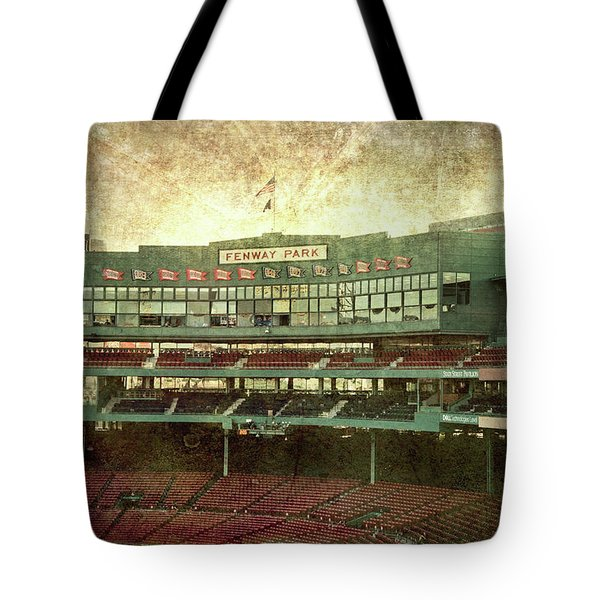 Fenway Park Vintage Art Tote Bag