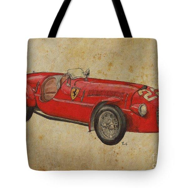 Ferrari 166s Tote Bag