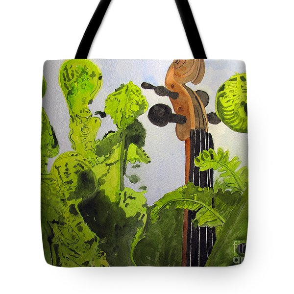 Fiddleheads Tote Bag