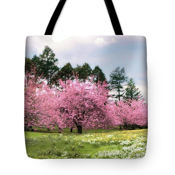 Field Of Dreams Tote Bag by Jessica Jenney
