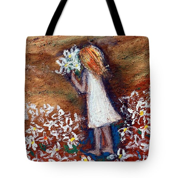 Field Of Flowers Tote Bag by Winsome Gunning