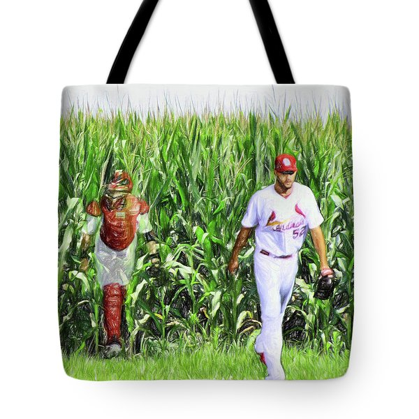 Field To Field Tote Bag by John Freidenberg