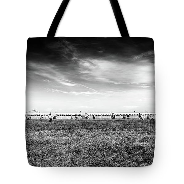 Tote Bag featuring the photograph Fields Of The Elysium Locomotive by John Williams