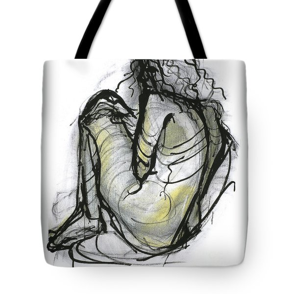 Figure Study Tote Bag