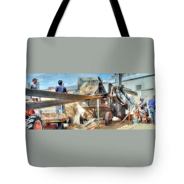Filling The Sack 3485 Tote Bag
