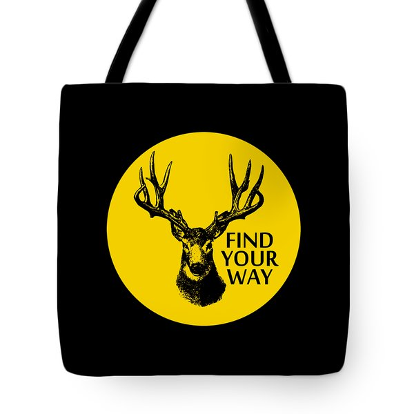 Find Your Way Tote Bag by Magdalena Raszewska