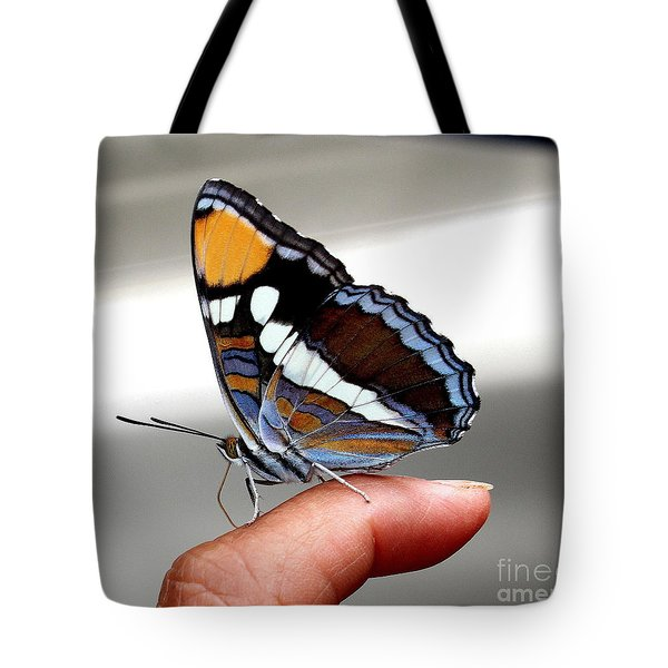 Finger Blessing Tote Bag