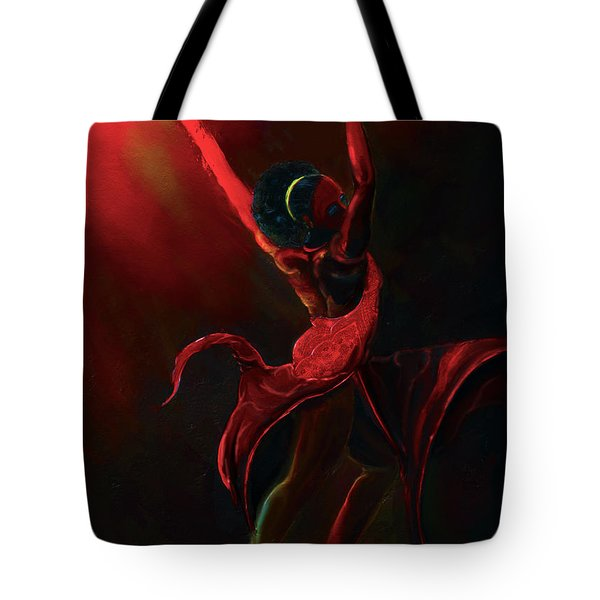 Fire Bender Tote Bag