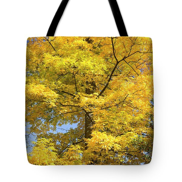 Tote Bag featuring the photograph Fire In The Sky by Tim Gainey