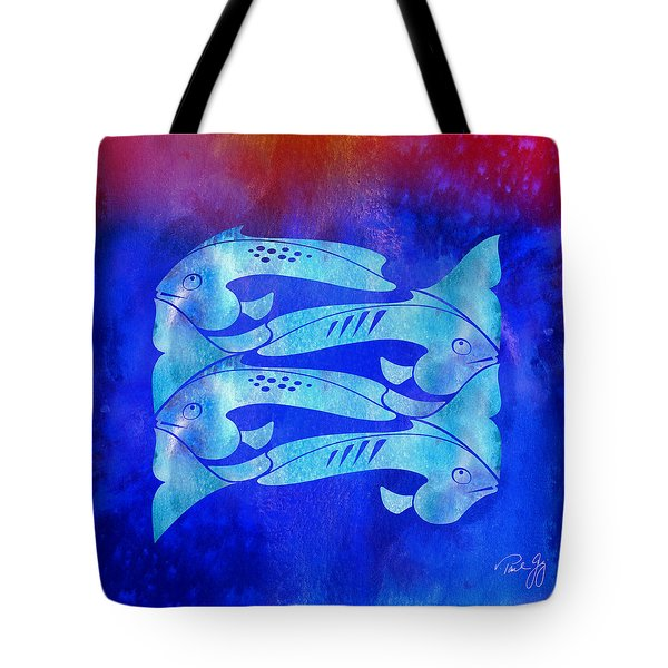 1 Fish 2 Fish Tote Bag