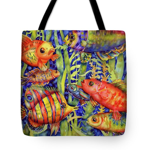 Fish Tales IIi Tote Bag