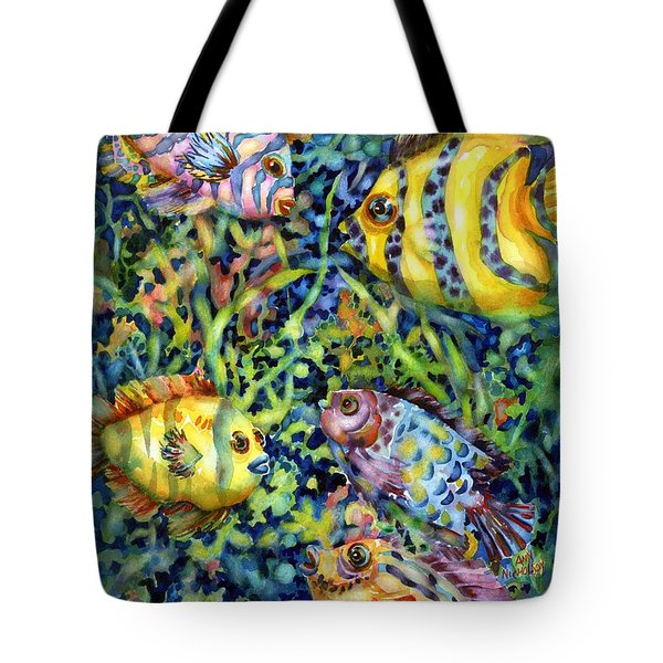 Fish Tales Iv Tote Bag