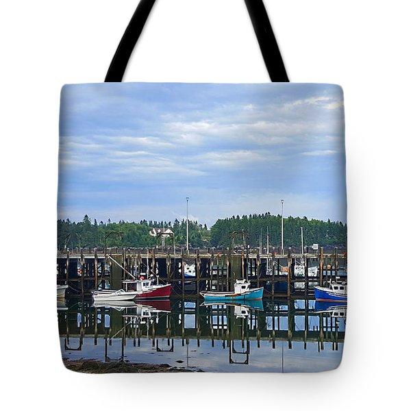 Fishing Boats - Beaver Harbour Tote Bag
