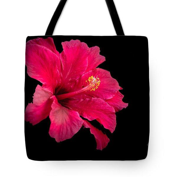 Floating  Hibiscus Tote Bag