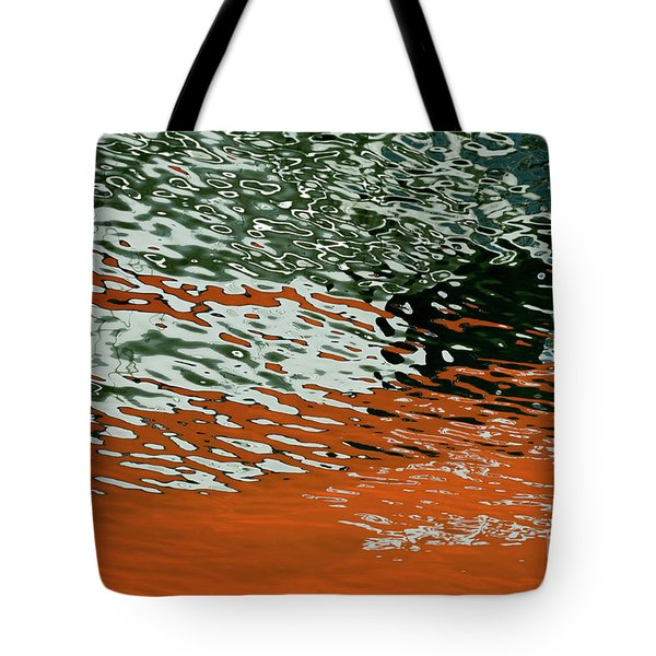 Tote Bag featuring the photograph Floating On Blue 43 by Wendy Wilton