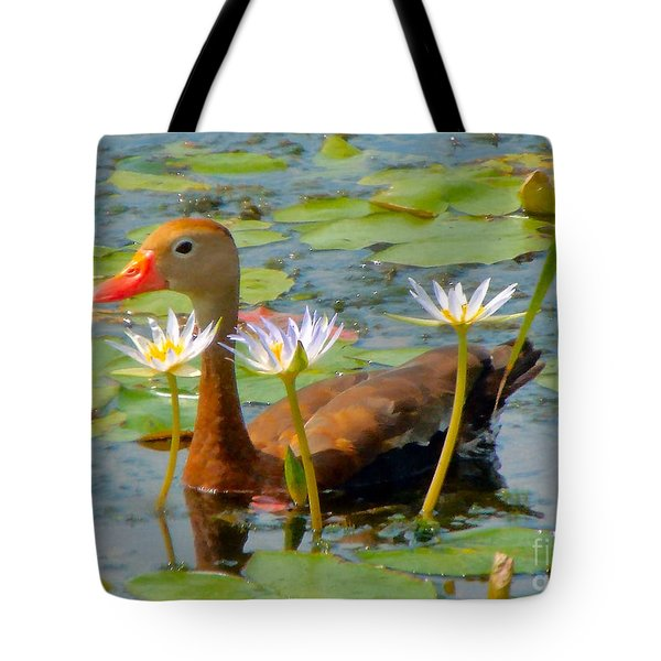 Floral Accessories Tote Bag