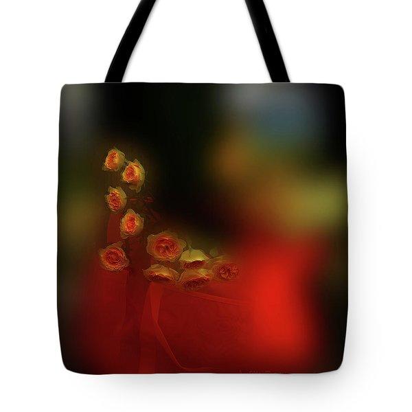 Floral Art 8 Tote Bag
