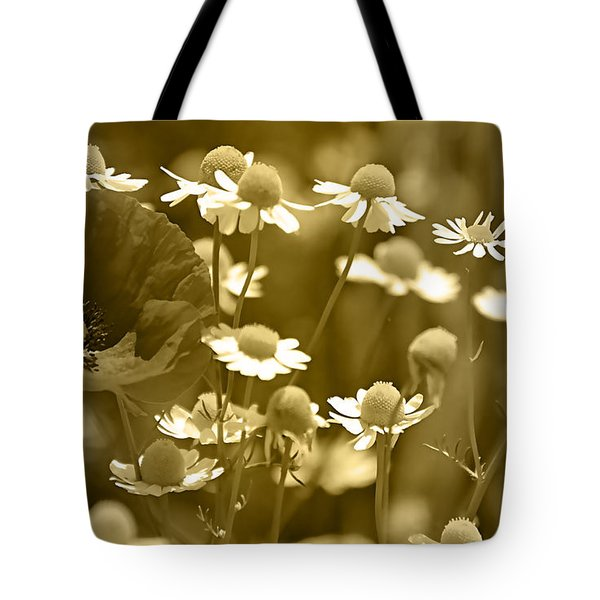 Floral Gold Collection Tote Bag