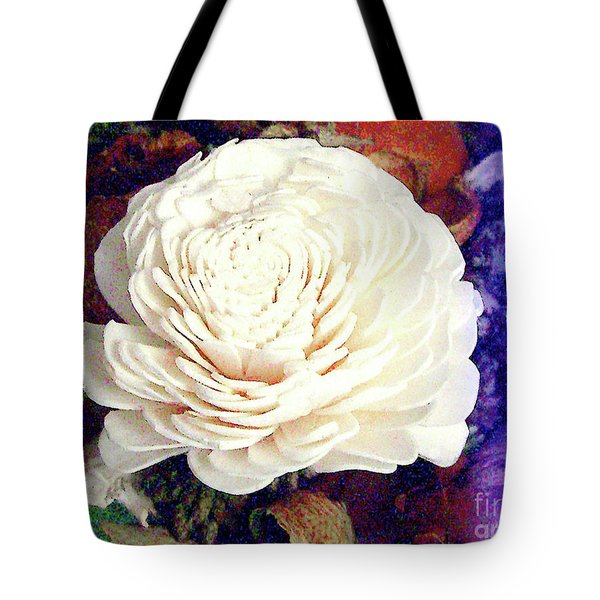 Tote Bag featuring the photograph Floral Potpourri by Merton Allen