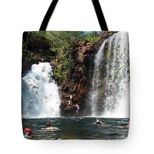 Florence Falls Tote Bag