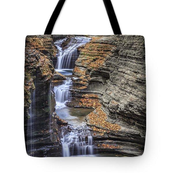 Flow Gently Tote Bag
